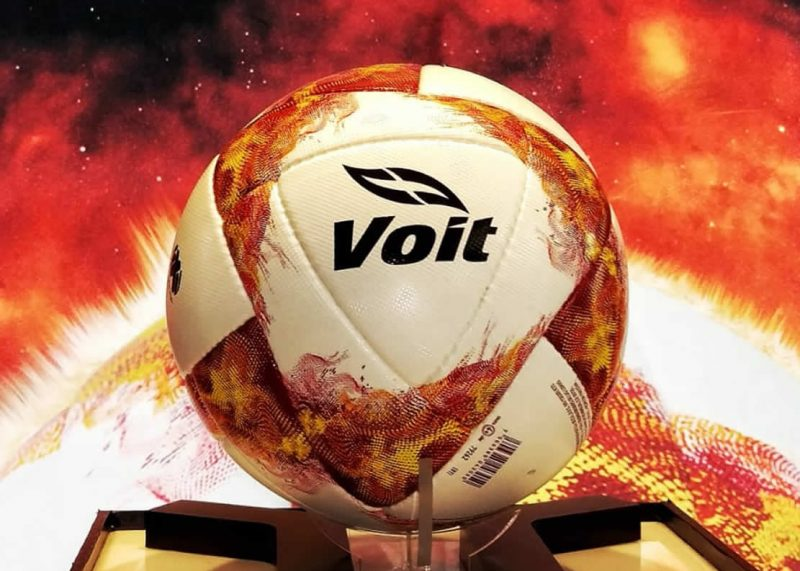 Balón oficial Be The Fire Torneo Apertura 2018 Liga MX | Imagen Voit