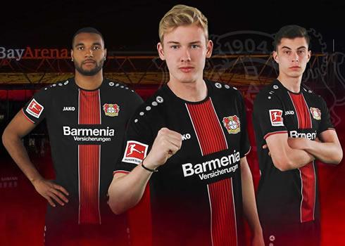 Camiseta titular Jako del Bayer 04 Leverkusen 2018/2019 | Imagen Web Oficial