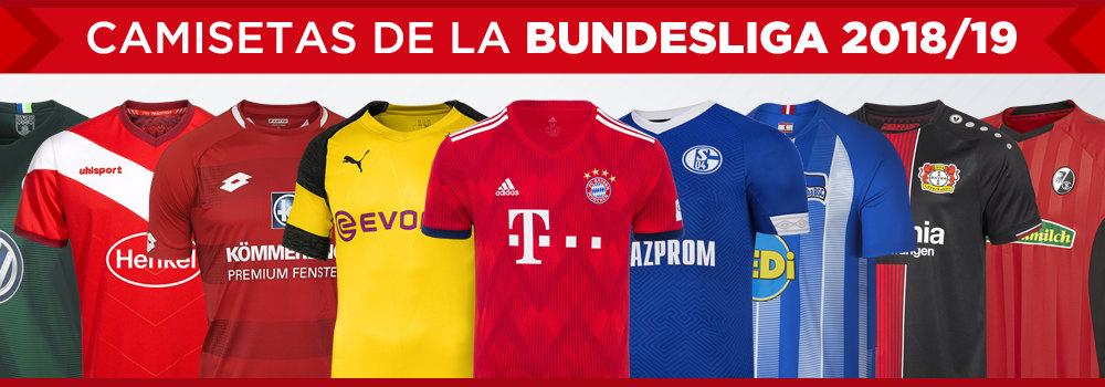 Camisetas de la Bundesliga 2018/19