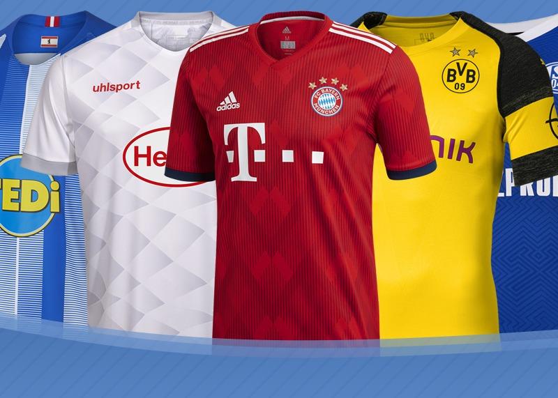 Las camisetas de la Bundesliga 2018/19