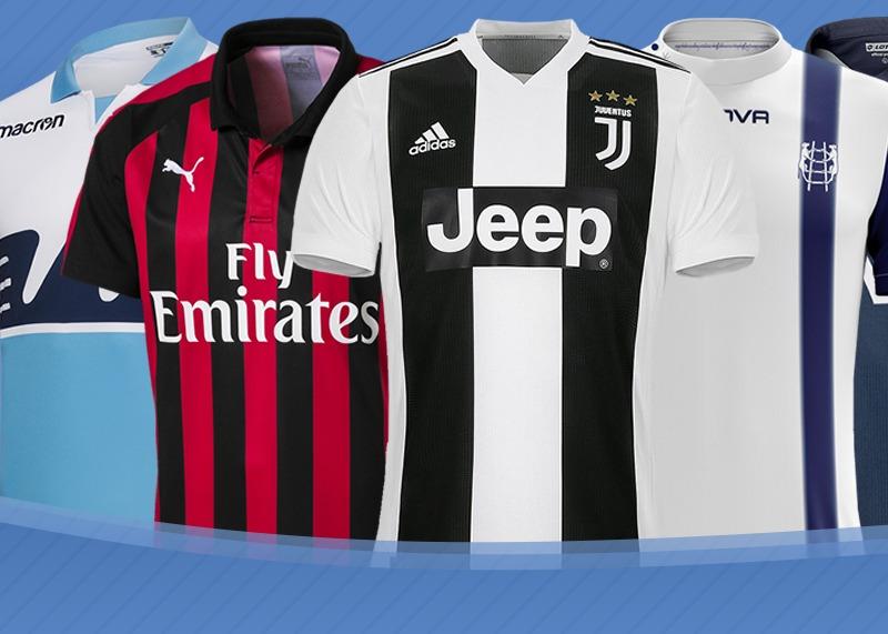 Las camisetas de la Serie A de Italia Temporada 2018/2019