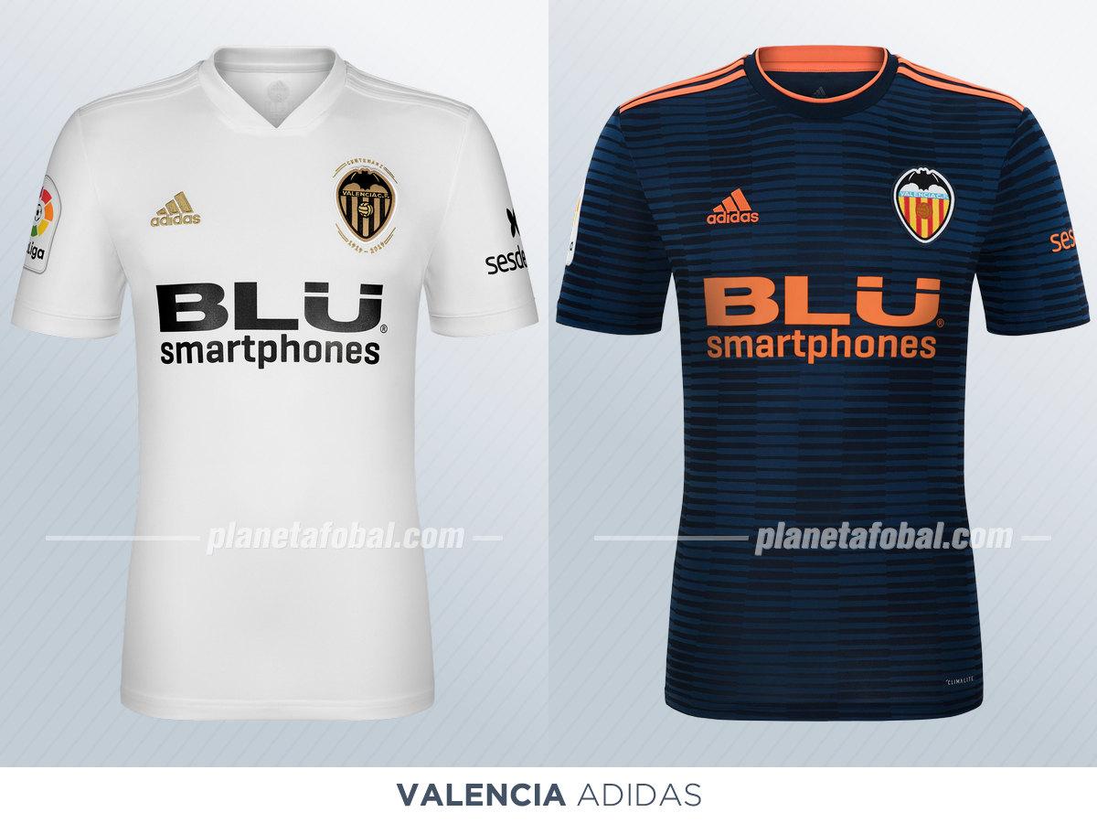 Camisetas de la Liga española 2018/19