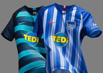 Camisetas Nike del Hertha Berlín 2018/19 | Imagen Web Oficial
