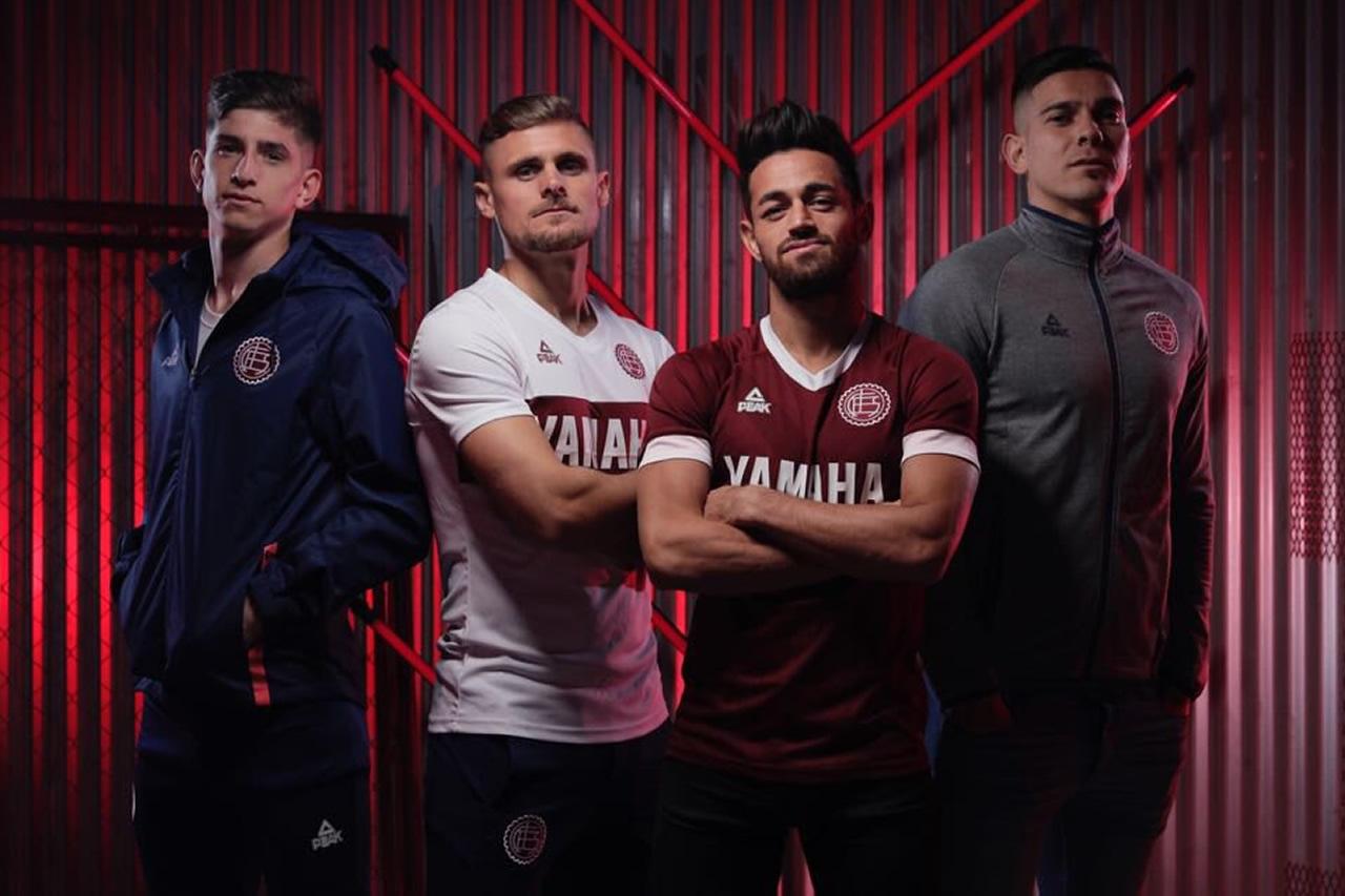 Camisetas de Lanús 2018/2019   Imagen Twitter Peak