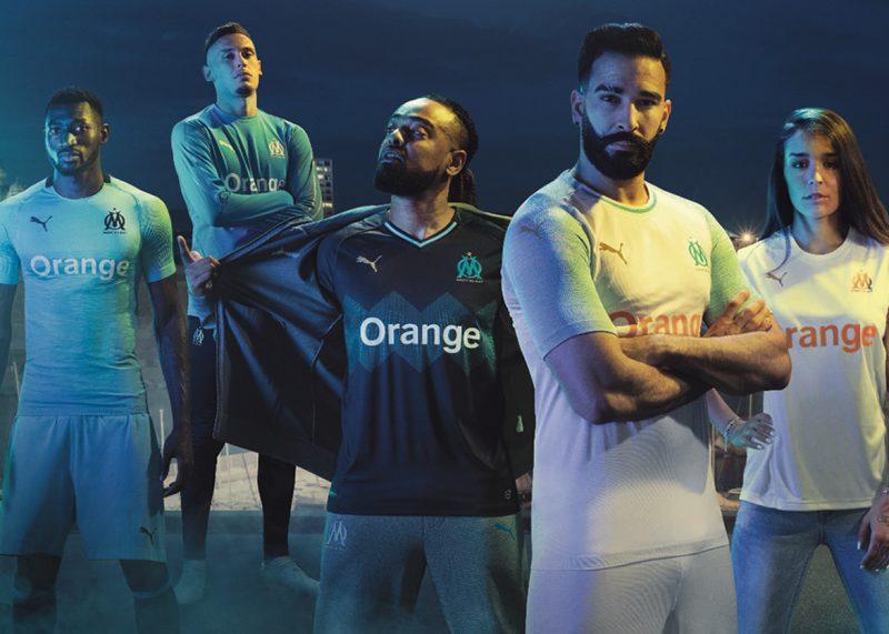 Camisetas Puma del Marsella 2018/19 | Imagen Web Oficial