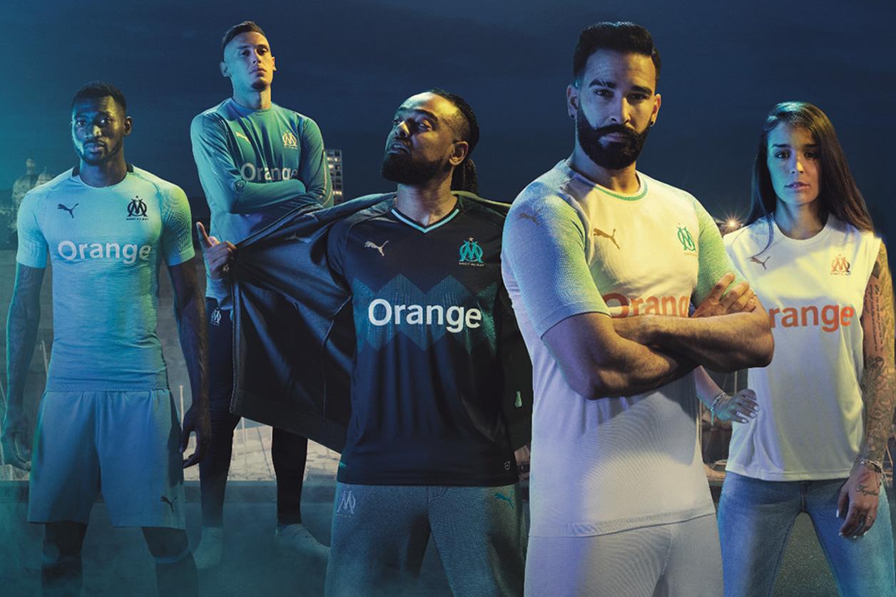 equipacion Olympique de Marseille futbol