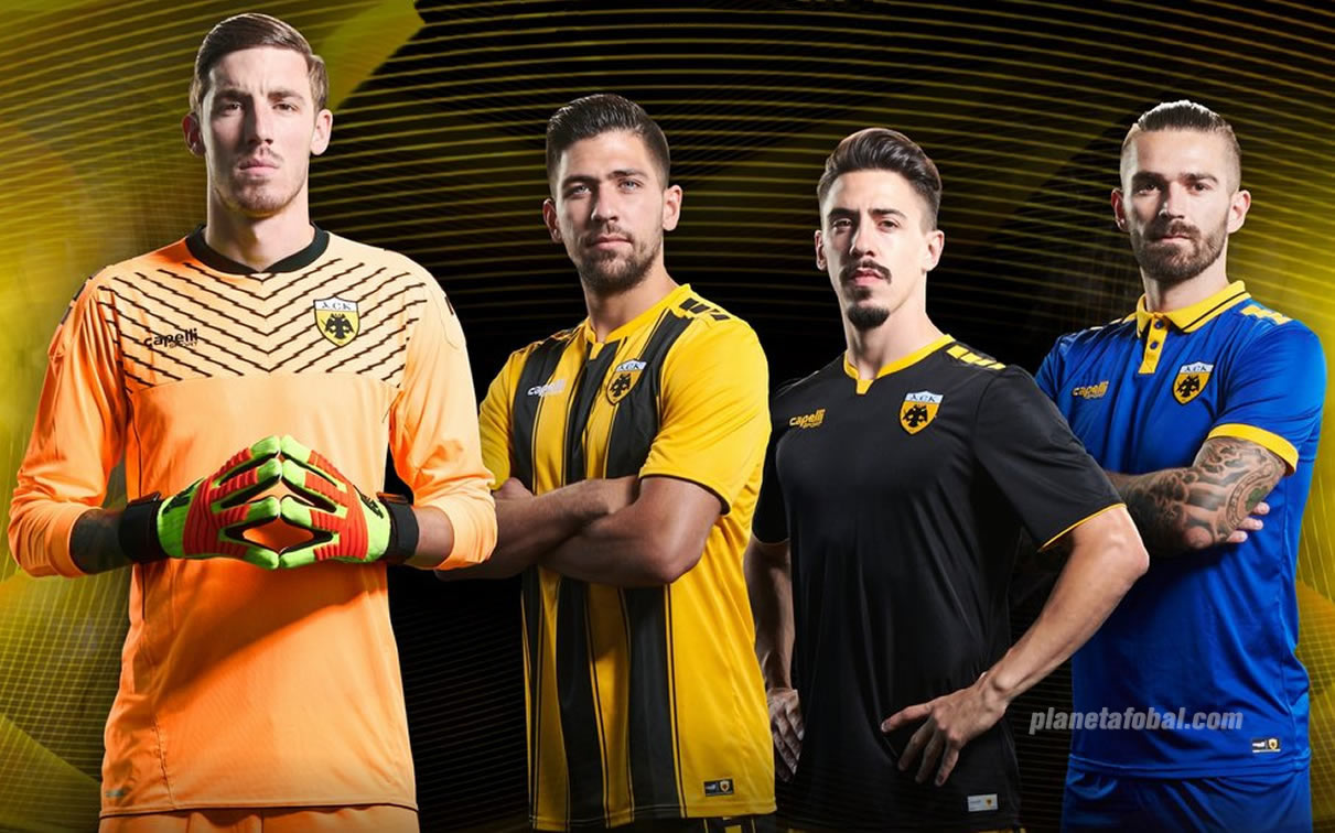 Camisetas Capelli Sport del AEK | Imagen Web Oficial