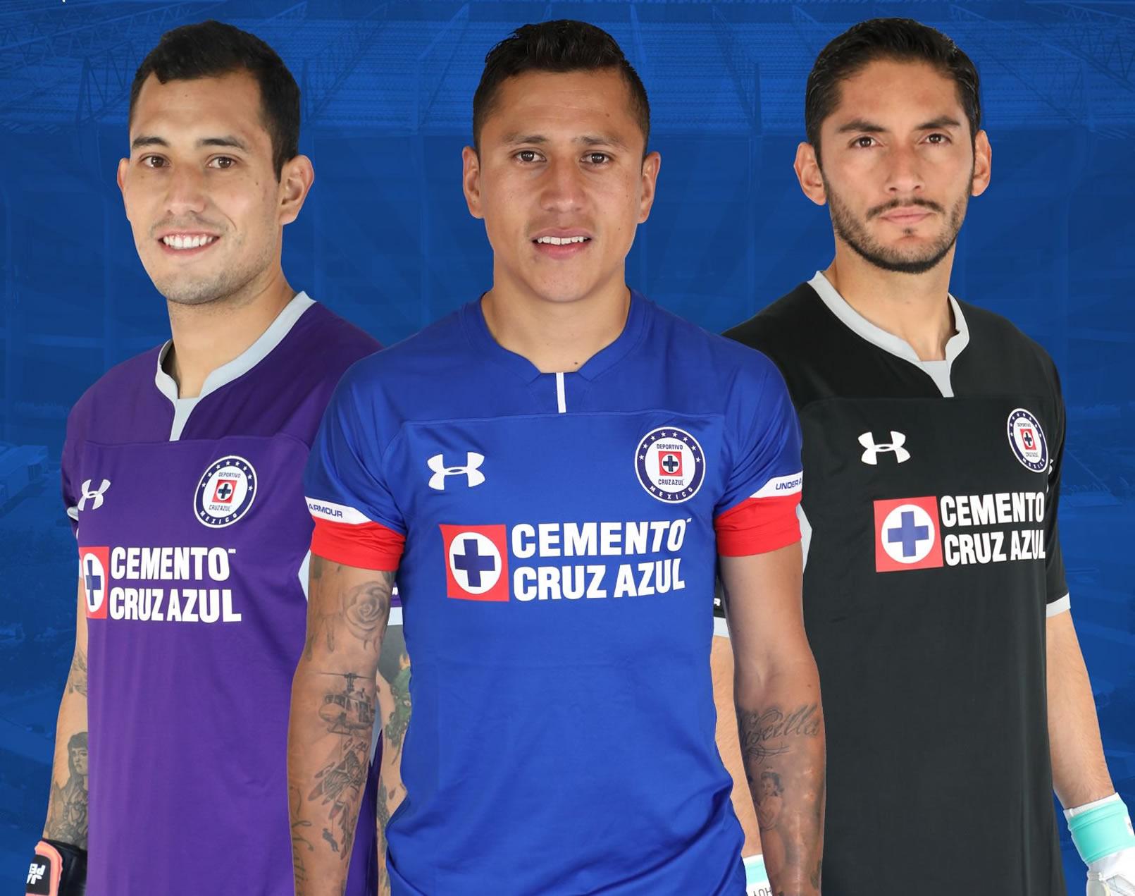 Camiseta local y de porteros del Cruz Azul | Imagen Twitter Oficial