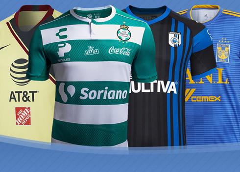 Las camisetas de la Liga MX 2018/19