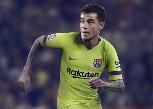 Camiseta suplente del FC Barcelona 2018/19 | Imagen Nike