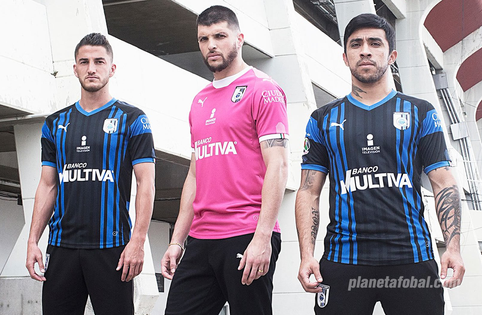 Camiseta local Puma 2018/19 del Querétaro | Imagen Twitter Oficial