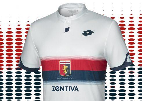 Camiseta suplente Lotto del Genoa 2018/19   Imagen Web Oficial