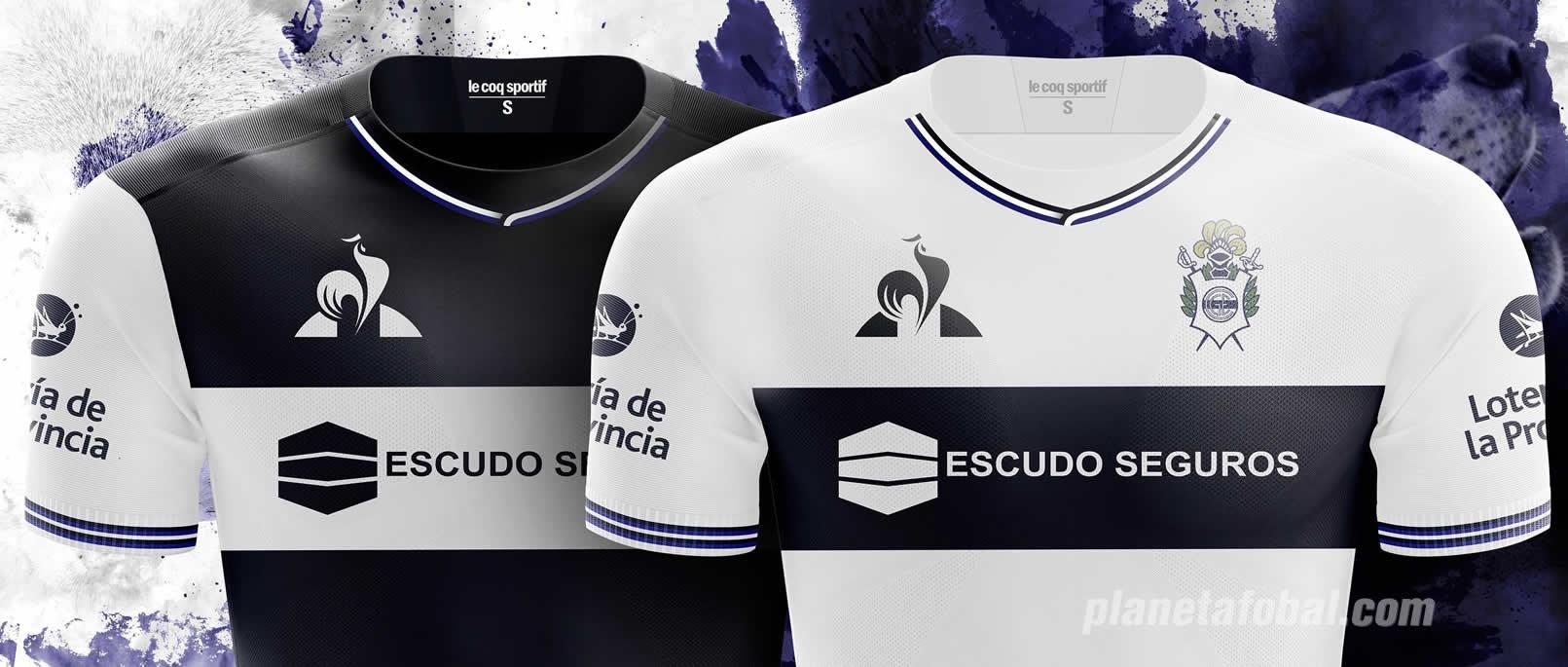 Camisetas 2018/19 de Gimnasia LP | Imagen le coq sportif