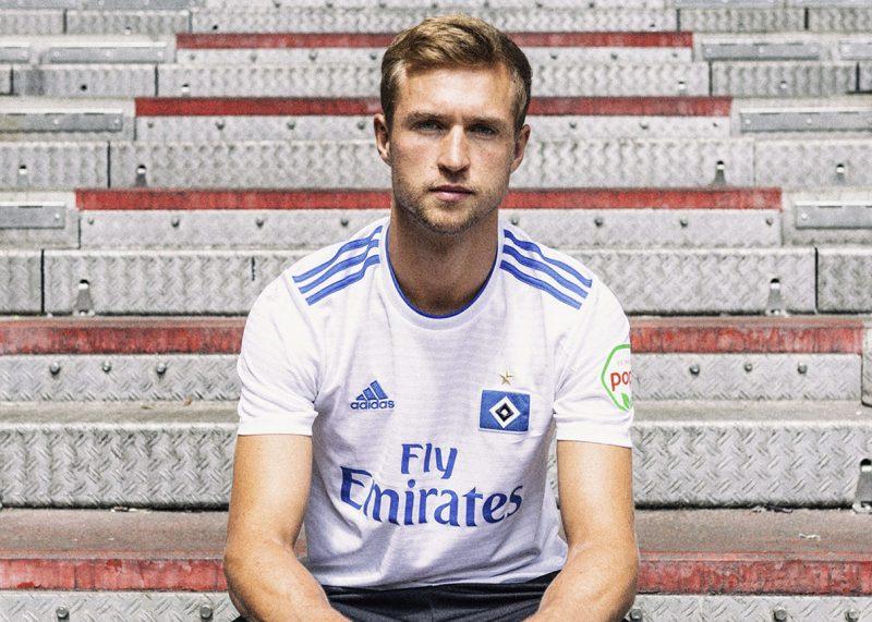 Camiseta titular 2018/19 del Hamburgo | Imagen Web Oficial