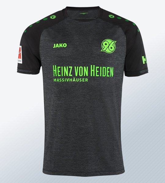 Camiseta suplente Jako del Hannover 96 2018/2019 | Imagen Web Oficial