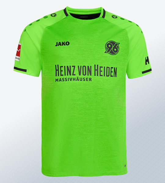 Tercera camiseta Jako del Hannover 96 2018/2019   Imagen Web Oficial