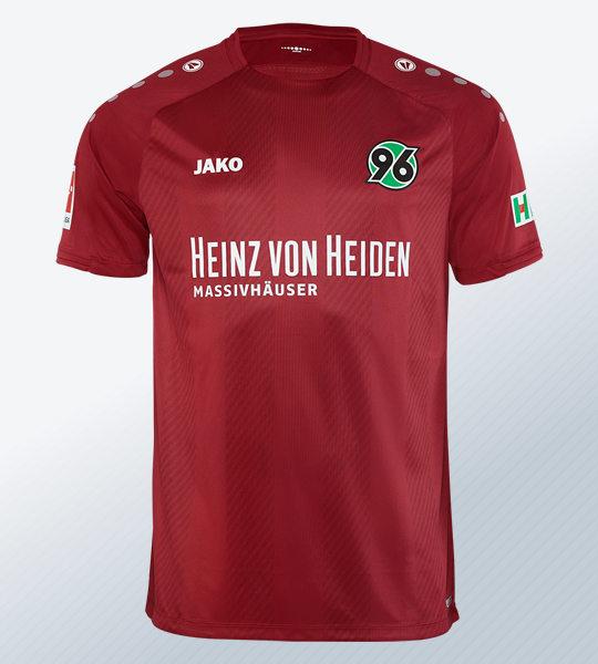 Camiseta titular Jako del Hannover 96 2018/2019   Imagen Web Oficial