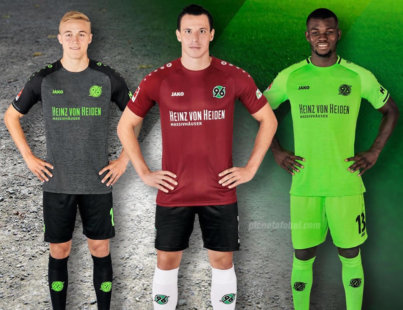 Camisetas Jako del Hannover 96 2018/2019   Imagen Web Oficial