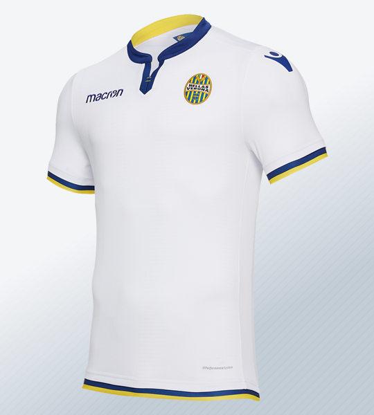 Camiseta suplente del Hellas Verona 2018/19 | Imagen Macron