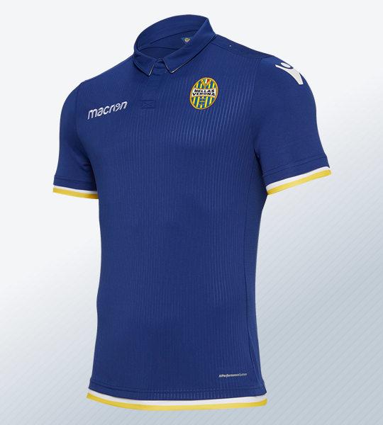 Camiseta titular del Hellas Verona 2018/19 | Imagen Macron