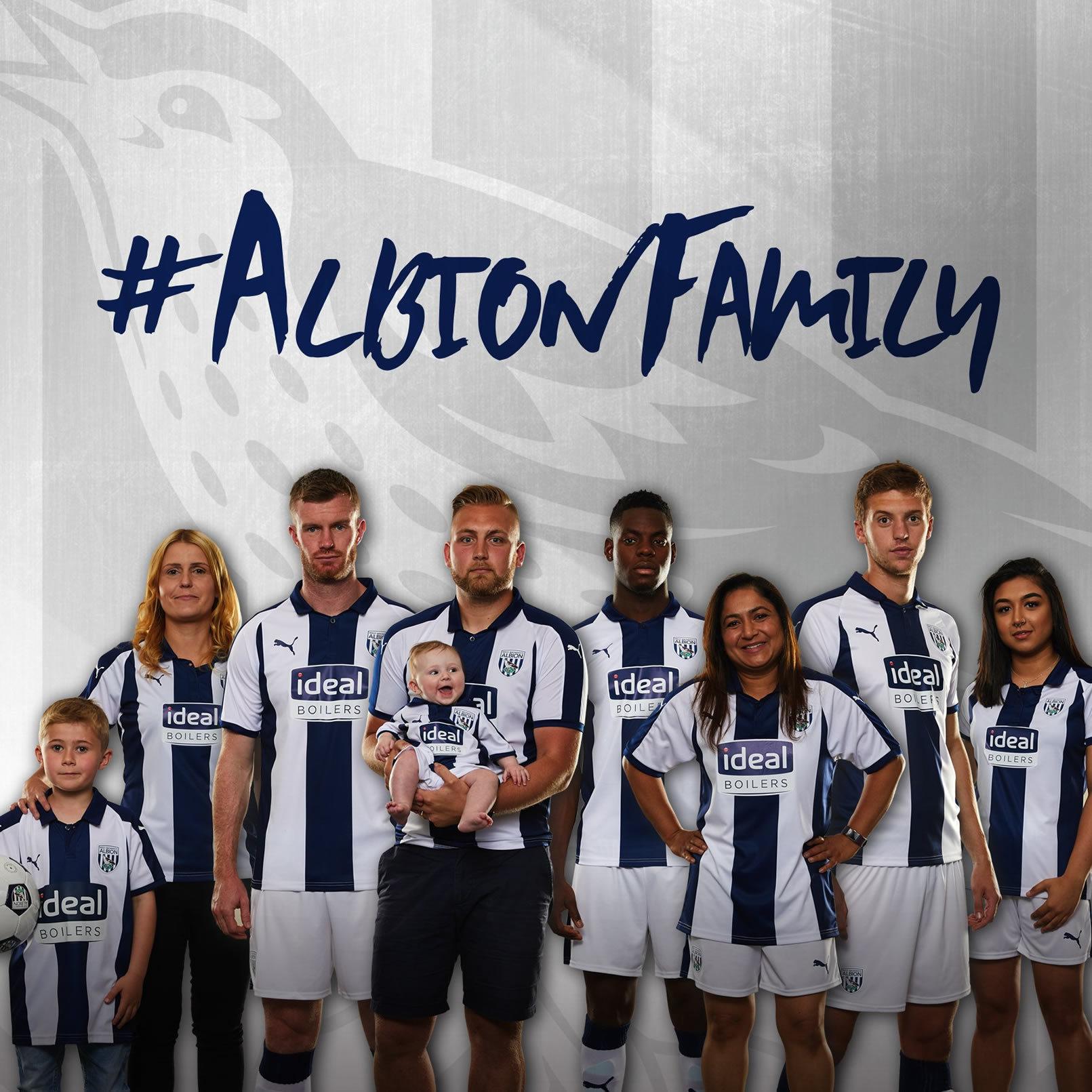 Camiseta titular Puma del West Bromwich Albion 2018/19 | Imagen Web Oficial