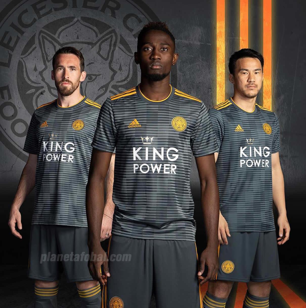 Camiseta suplente Adidas del Leicester City 2018/19 | Imagen Web Oficial