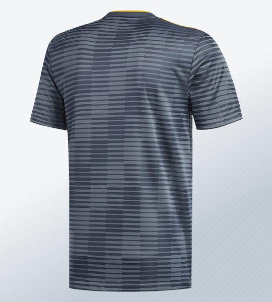 Camiseta suplente del Leicester City 2018/19 | Imagen Adidas