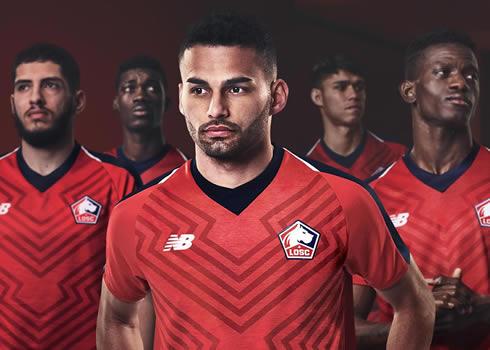 Camiseta titular New Balance del LOSC Lille 2018/19 | Imagen Web Oficial
