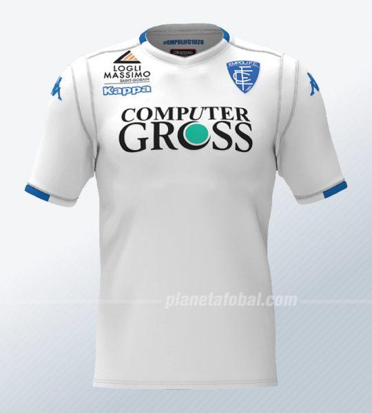 Camiseta suplente del Empoli Calcio | Imagen Web Oficial