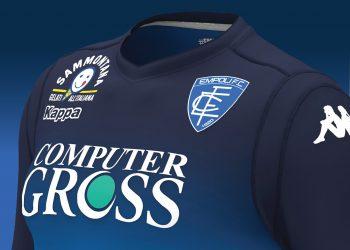 Camiseta titular del Empoli Calcio | Imagen Web Oficial