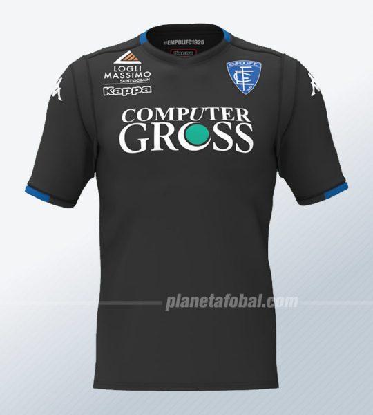 Tercera camiseta del Empoli Calcio | Imagen Web Oficial