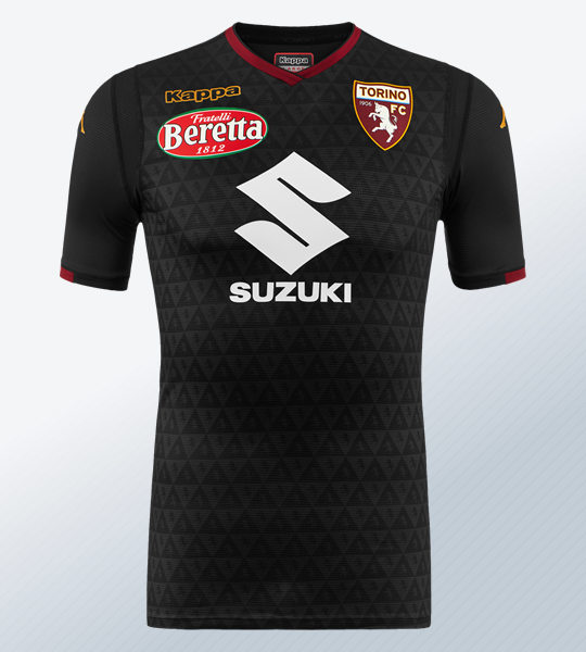 Camiseta de arquero del Torino | Imagen Kappa