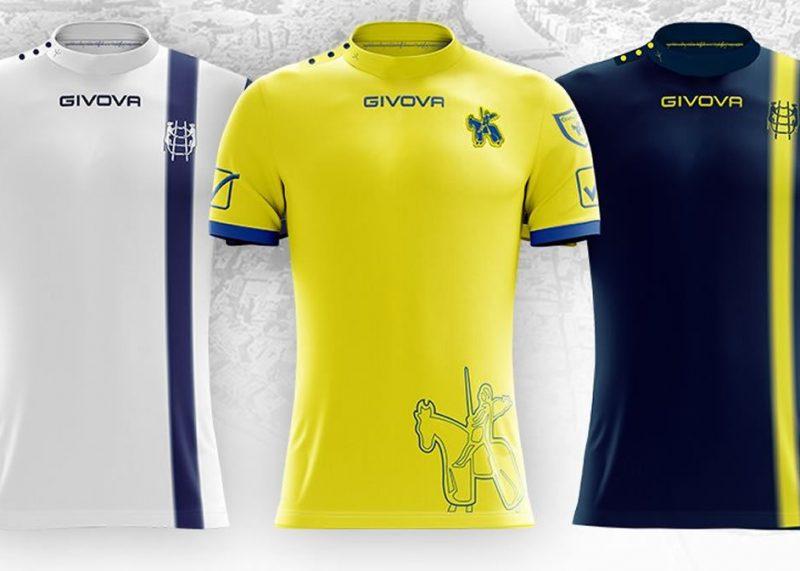 Camisetas Givova del Chievo Verona | Imagen Web Oficial
