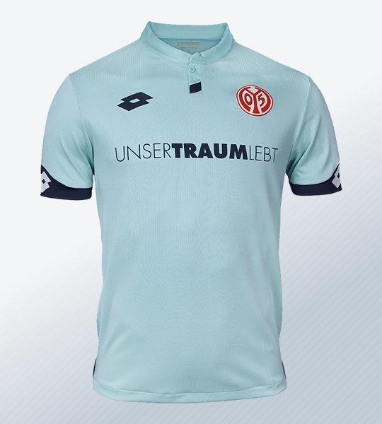 Camiseta suplente Lotto del Mainz 05 | Imagen Web Oficial