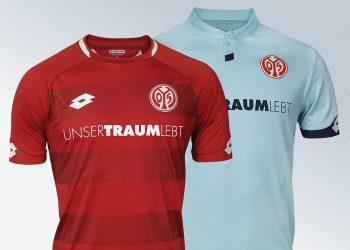 Camisetas Lotto del Mainz 05 | Imagen Web Oficial