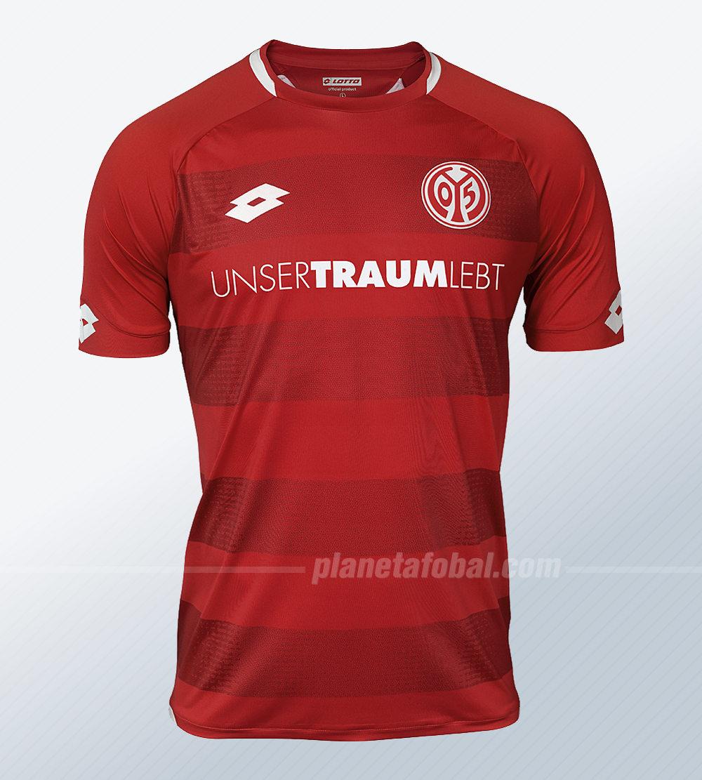 Camiseta titular Lotto del Mainz 05 | Imagen Web Oficial