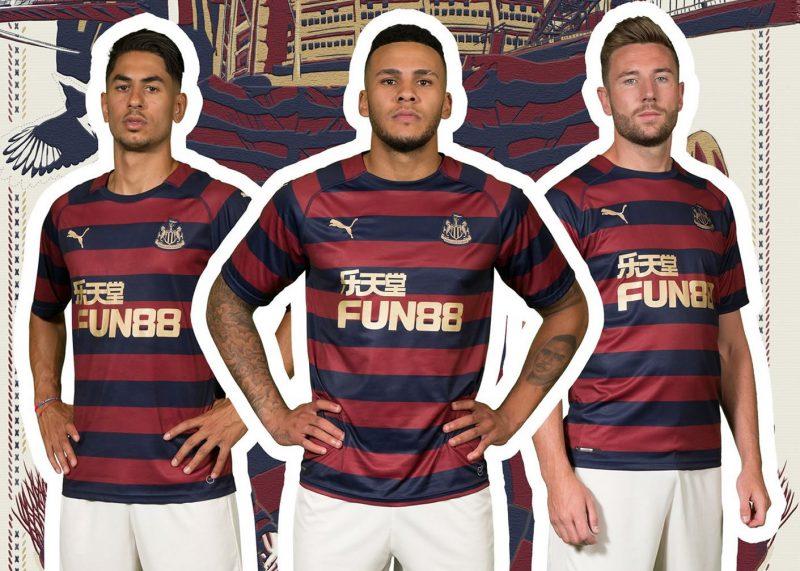 Camiseta suplente Puma del Newcastle United | Imagen Web Oficial