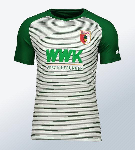Camiseta suplente Nike del FC Augsburg 2018/19 | Imagen Web Oficial