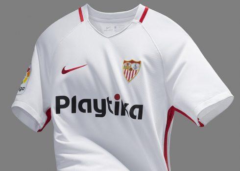 Nueva camiseta titular 2018/19 del Sevilla | Imagen Nike