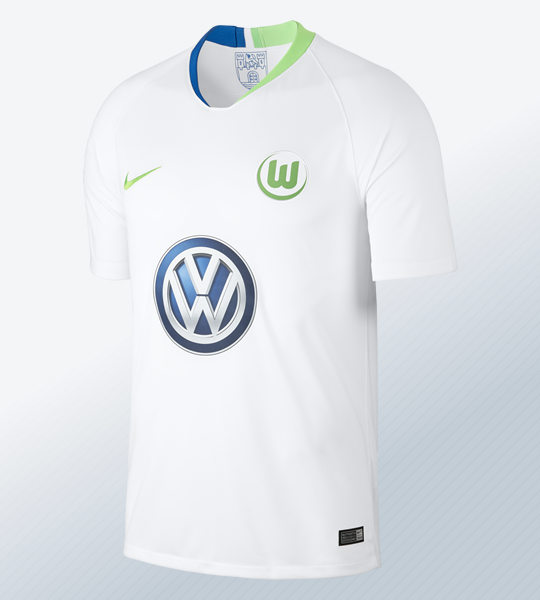 Camiseta suplente 2018/19 del VfL Wolfsburg 2018/2019 | Imagen Nike