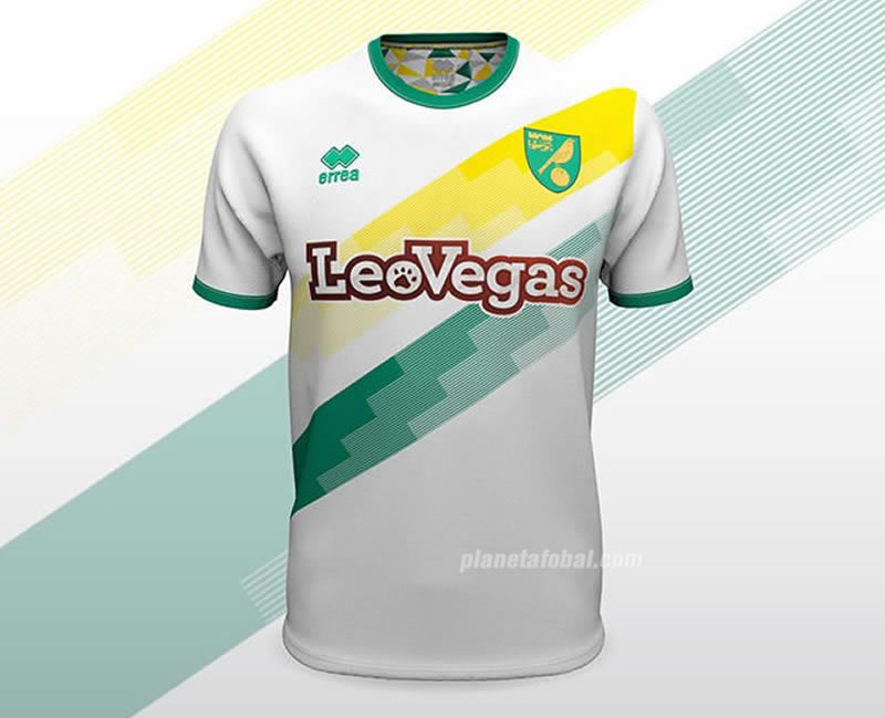 Camiseta suplente del Norwich City | Imagen Web Oficial