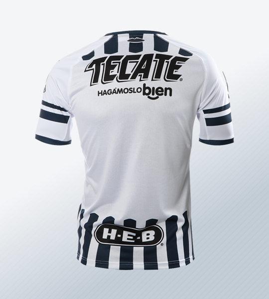 Camiseta local de los Rayados de Monterrey | Imagen Web Oficial