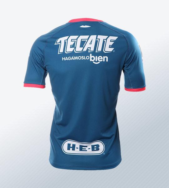 Camiseta visita de los Rayados de Monterrey | Imagen Web Oficial