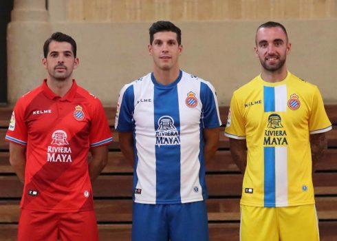 Equipaciones Kelme del RCD Espanyol 2018/2019 | Imagen Web Oficial