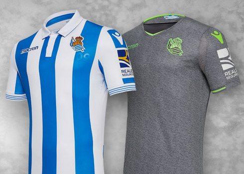 Camisetas 2018/19 de la Real Sociedad | Imagen Macron