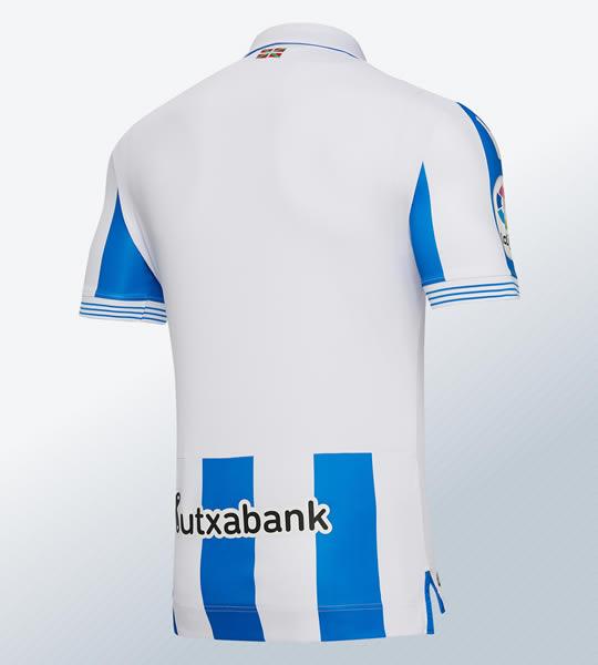Camiseta titular 2018/19 de la Real Sociedad | Imagen Macron