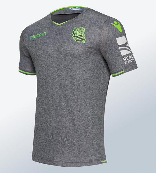 Camiseta suplente 2018/19 de la Real Sociedad | Imagen Macron