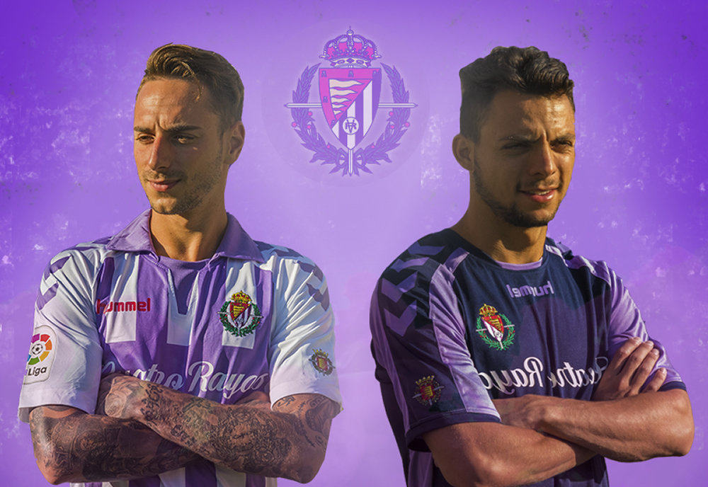 Camisetas del Real Valladolid   Imagen Hummel