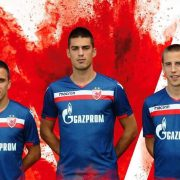 Camiseta suplente del FC Red Star Belgrade   Imagen Macron