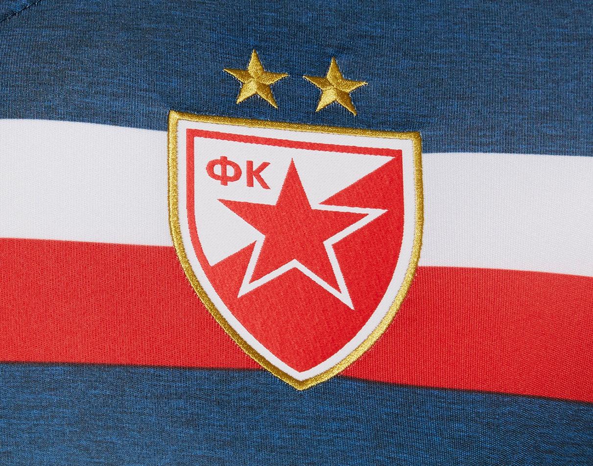 Camiseta suplente del FC Red Star Belgrade | Imagen Macron
